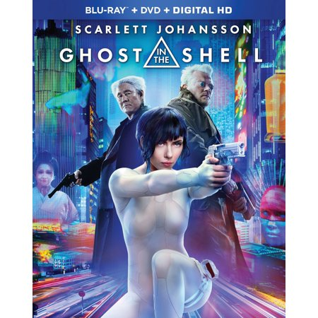 Ghost In The Shell (Walmart Exclusive) (Blu-ray + DVD + Digital HD)