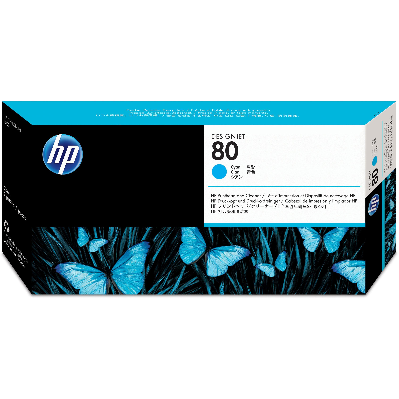 HP, HEWC4821A, 80 Printheads / Printhead Cleaners