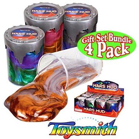 Toysmith Mars Mud Slimeputty Complete Gift Set Party Bundle 4