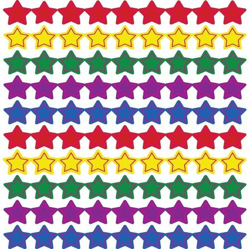 Stars, Multicolor Chart Seals