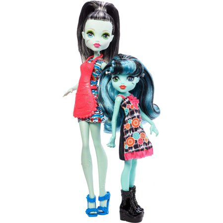 Monster High Monster Family Frankie Stein & Alivia Stein Dolls](Frankie On Monster High)