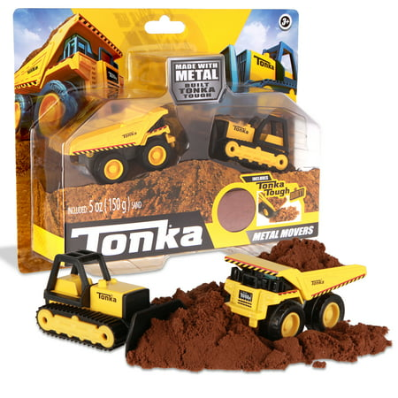Tonka Mini Movers - Mighty Dump and Bull Dozer