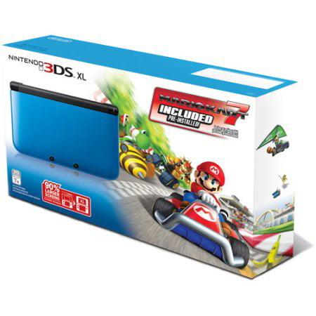 Refurbished Nintendo 3DS XL Handheld Console W/ Mariokart 7 Pre-Installed
