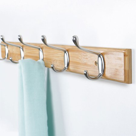 Uxcell Wall Mounted Hooks Rack Metal Hat Towel Clothes Coat Hook Hanger