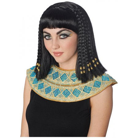 Deluxe Cleopatra Wig Adult Costume Accessory - Black Cleopatra