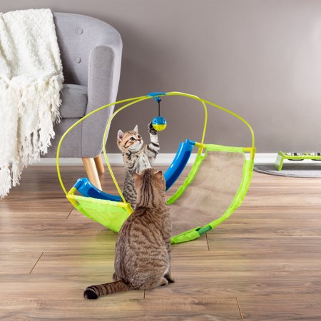 Interactive Cat Toy Rocking Activity Mat Swing Playing