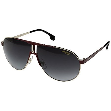 Carrera Carrera 1005/S 0AU2 Red Gold 9O dark gray gradient lens (Carrera Sunglasses Review)
