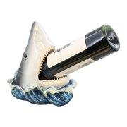 Shark Decorative Wine Bottle Holder - Mako Great White Land Shark - Ocean Beach Decor - Fin-e Wine