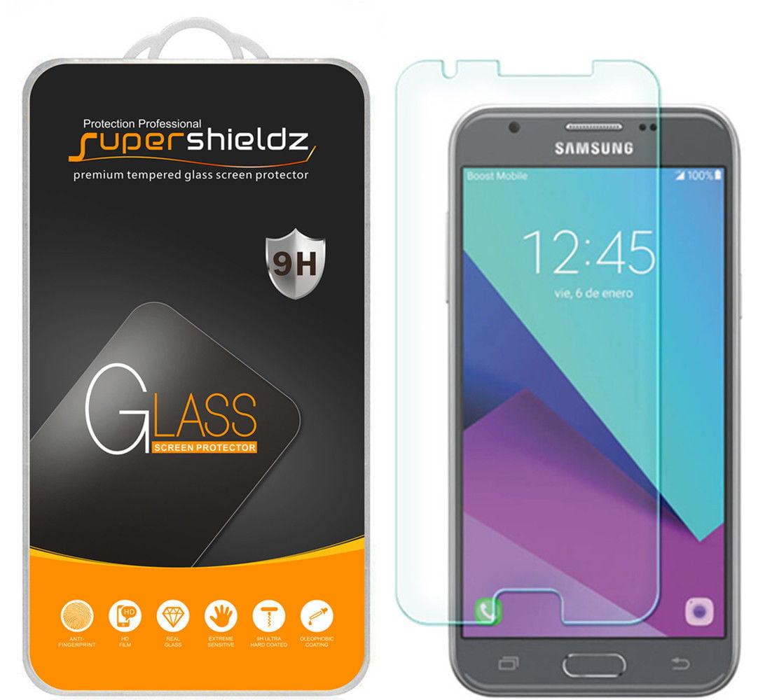 [1-Pack] Supershieldz Samsung Galaxy J3 Luna Pro Tempered Glass Screen Protector, Anti-Scratch, Anti-Fingerprint, Bubble Free