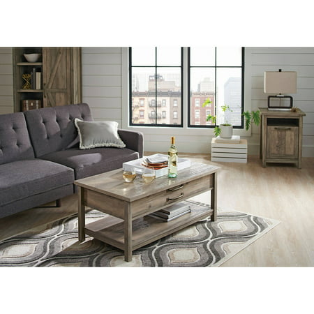 Better homes and gardens modern farmhouse lift top coffee for Modern farmhouse coffee table