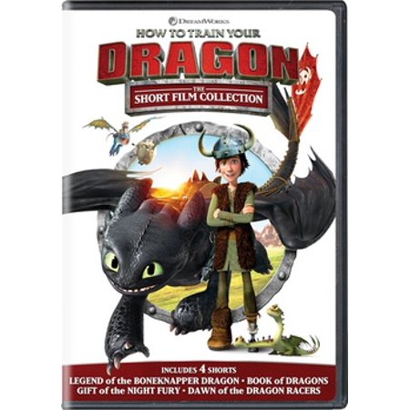 How to Train Your Dragon: The Short Film Collection (DVD) (Short Halloween Films For Kids)