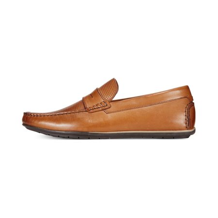 ffd5d950f2b Alfani Mens Will Leather Closed Toe Penny Loafer - image 1 of 2 ...