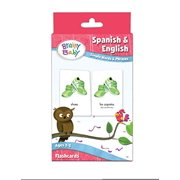 Brainy Baby Teach Your Child Spanish and English:  Simple Words and Phrases Flashcards Deluxe Edition