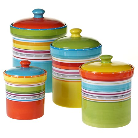 Certified International  Mariachi Collection 4 piece Canister Set ()