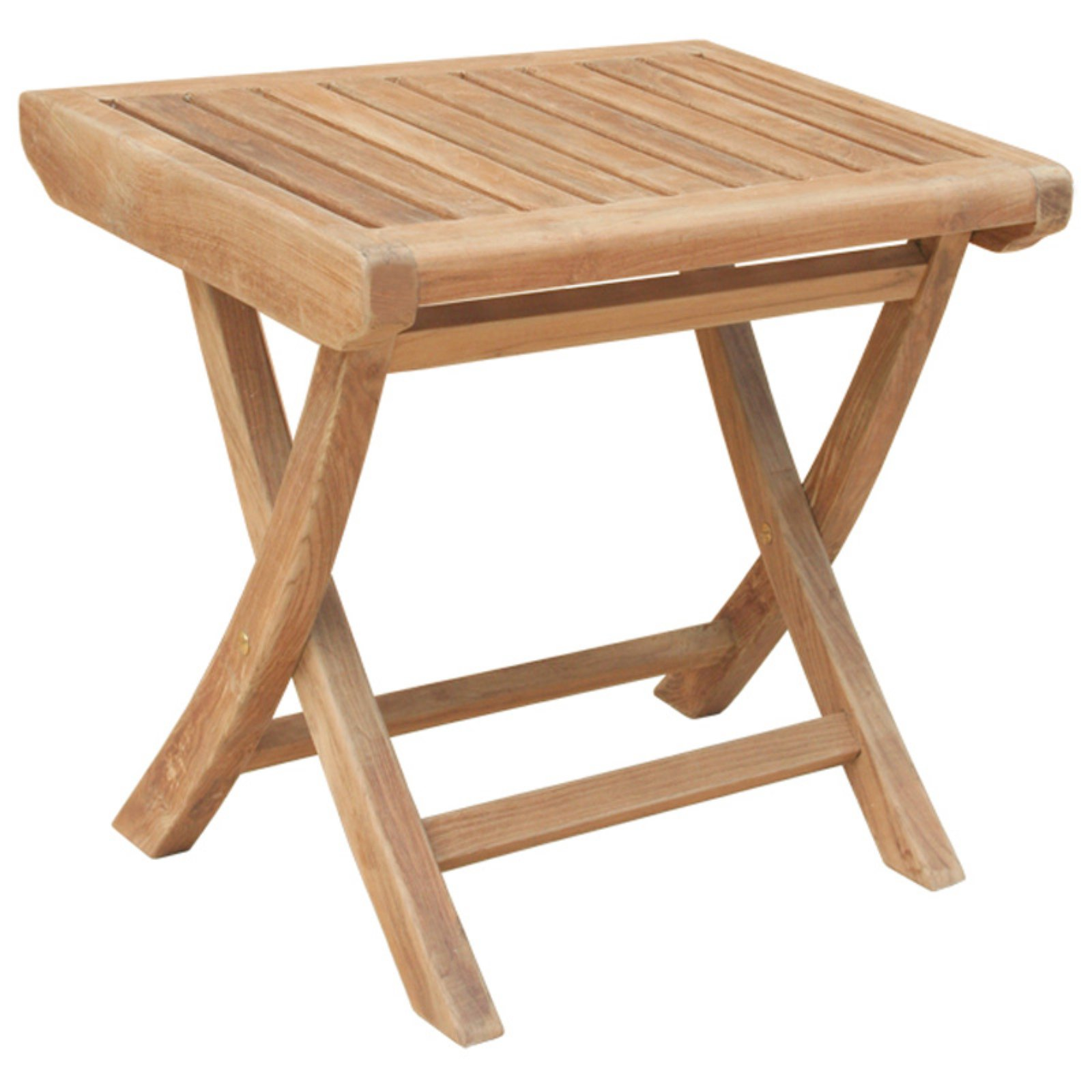 Chic Teak Miami Teak Outdoor Footstool
