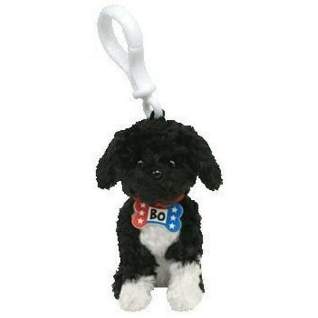 6694e2a3802 Ty Beanie Babies Key Clip - Ty Beanie Babies Bo - Portuguese Water Dog Clip  White - Walmart.com