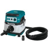 Makita 18-Volt X2 LXT Lithium-Ion Brushless Cordless 2.1 Gal. HEPA Filter Dry Dust Extractor/Vacuum Tool Only