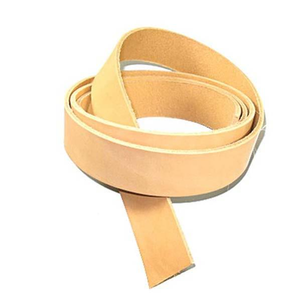 """7/8 oz Leather Cowhide Strips 4"""" (102mm)"""
