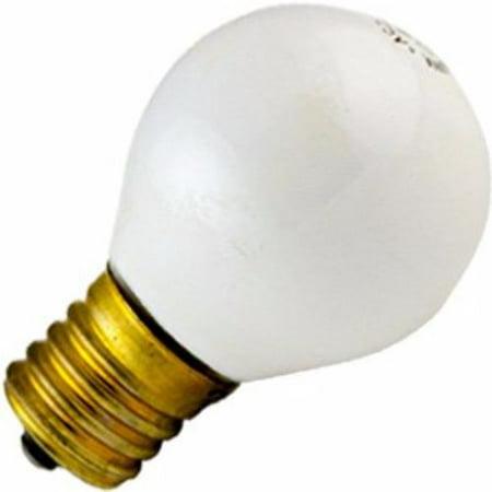 Norman Lamps 10S11N-130V-CW - 130V, 10W, S11 Miniature Light Bulb, Ceramic White (Pack of 10) (130v Miniature)