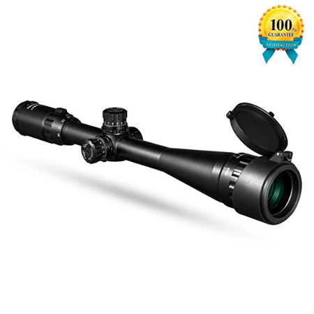 Gskyer Rifle Scope, 4-16X40AO BDC Reticle Tactical Turrets Crosshair Optics gun scope for Hunting Shooting