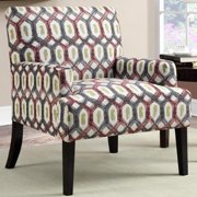 A Line Furniture Barcelona LaPalma Design Geometric Patterned Accent Chair