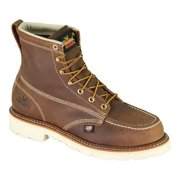 "Thorogood Men's American Heritage 804-4375 6"" Trail Crazyhorse Moc Steel Toe Boot"