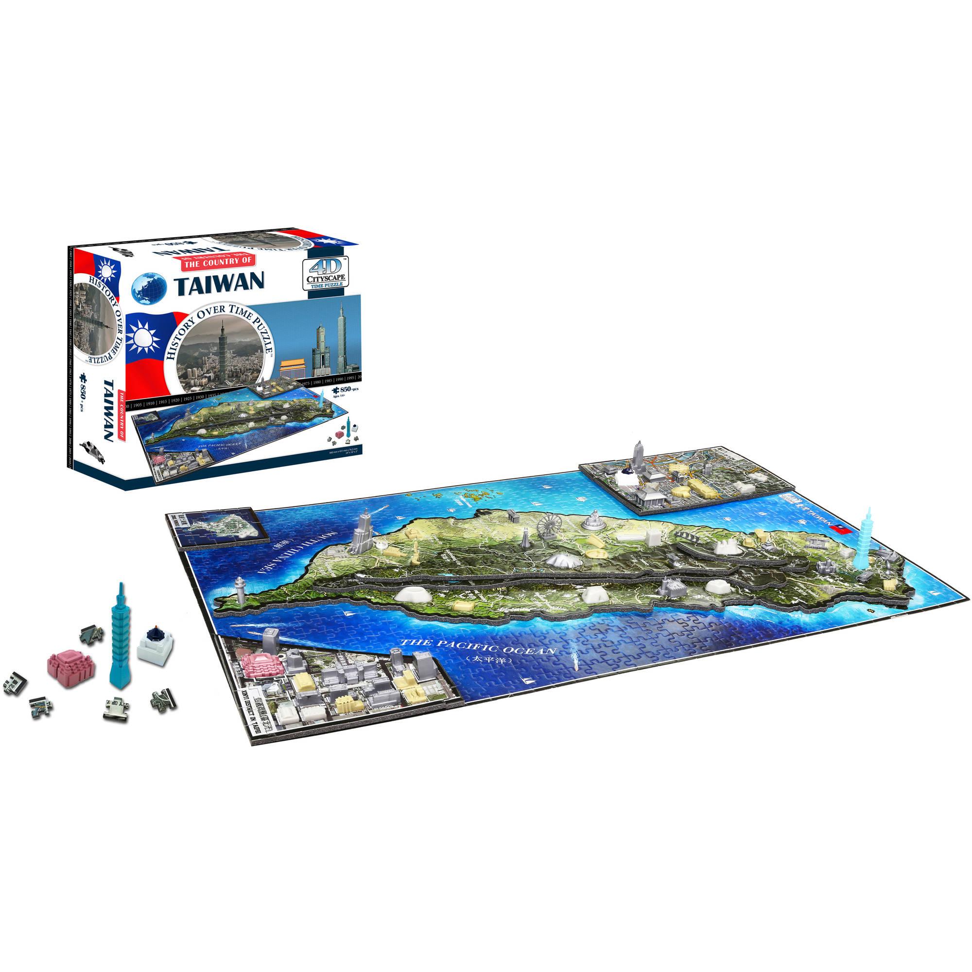 4D Taiwan Jigsaw Puzzle