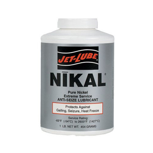 Jet-Lube Nikal  High Temperature Anti-Seize & Gasket Compounds - nikal 1lb btc extreme temp anti-seize