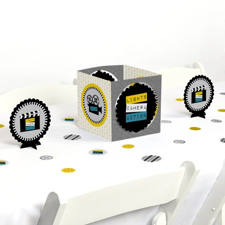 Movie - Hollywood Party Centerpiece & Table Decoration