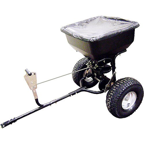 Precision 130-Pound Tow-Behind Broadcast Spreader
