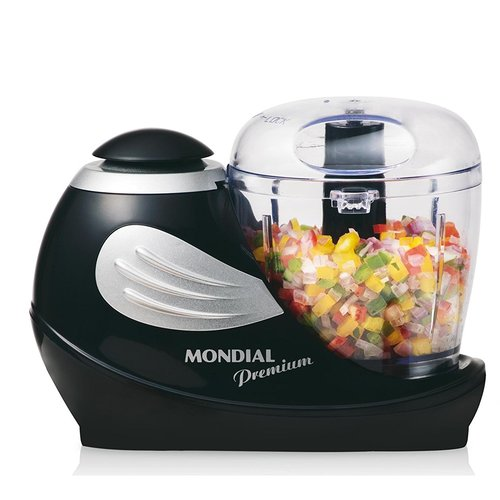 Mondial MP-01 1.5-Cup Food Chopper Processor, Black