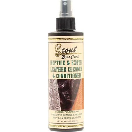 M F Foot And Headwear Unisex-Adult Scout s Reptile Exotic Leather Cleaner