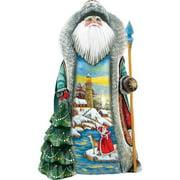 G Debrekht Masterpiece Santa's Lookout Figurine