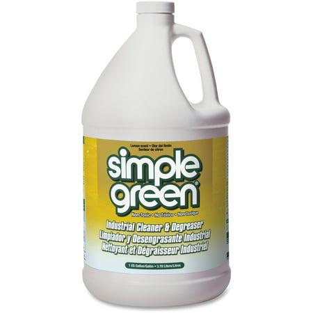 - Simple Green Industrial Cleaner/Degreaser, Lemon, 1 Each (Quantity)