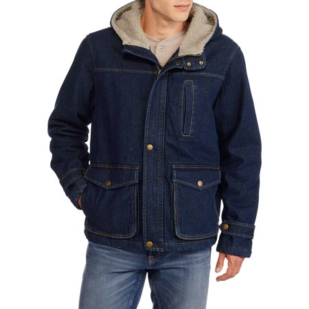 Faded Glory Men's Hooded Canvas Jacket