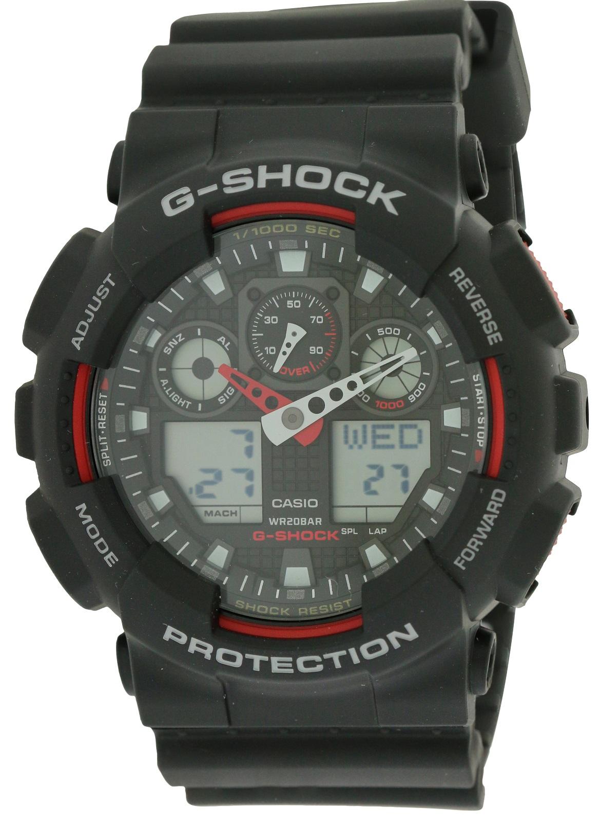 G-Shock Analog Digital Mens Watch GA100-1A4