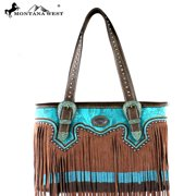 MW335-8014 Montana West Fringe Collection Tote Bag