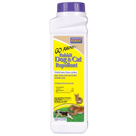 Go Cat Rabbit - 870 1-Pound Go Away Rabbit, Dog and Cat RepellentRepels dogs and cats to prevent defecation, urination and digging By Bonide