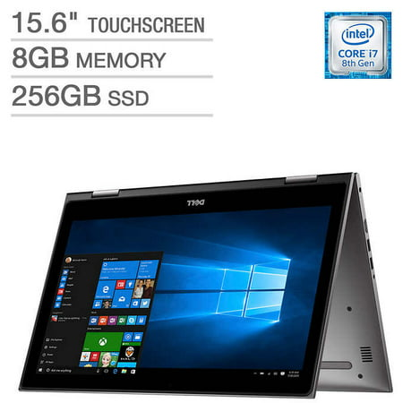 Dell - Inspiron 15 5000 2-in-1, 15 6-inch FHD, Intel Core i7-8550U, 8GB  2400MHz DDR4, 256 GB (SSD), Intel UHD graphics 620