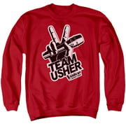 The Voice Usher Logo Mens Crewneck Sweatshirt