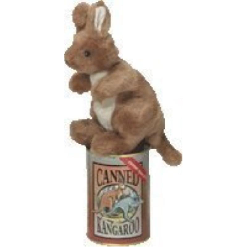 Canned Furry Kangaroo Stuffed Animal By Aussie Cans Walmart Com