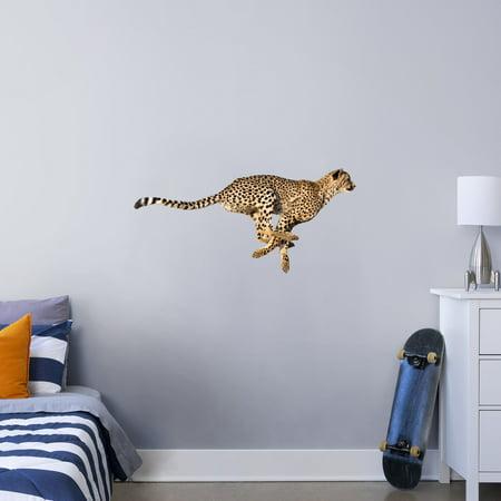 Fathead Cheetah X Large Animal Removable Wall Decal