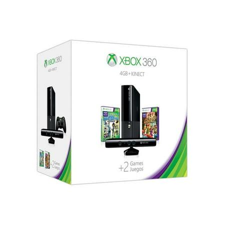 Microsoft Xbox 360 E 4gb-knct 1p Bndl