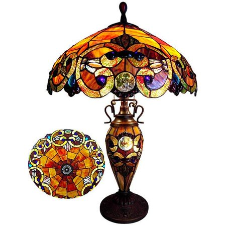 Chloe Lighting Chloe Tiffany Style Victorian Design 2-light Table (Tiffany Website With Prices)