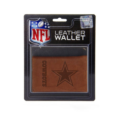 NFL Dallas Cowboys Leather Trifold Wallet