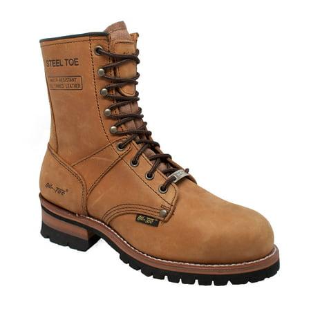 Men's 1740 9 Steel Toe Logger Boot