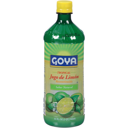 ***Discontinued***Goya tropical reconstituted juice, lemon, 32 fl oz, 12 count