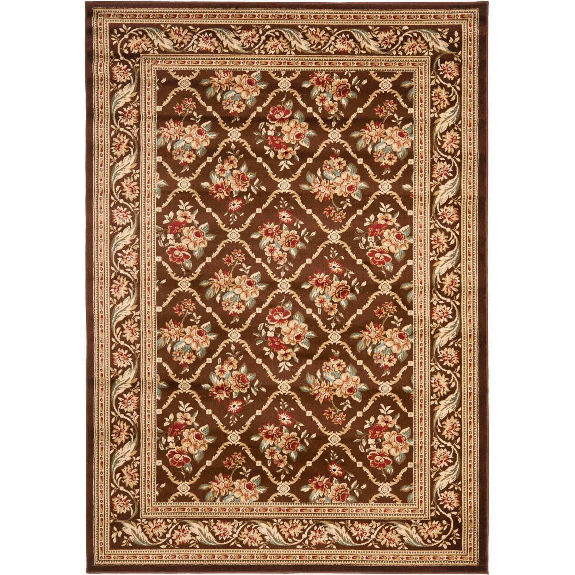Safavieh Lyndhurst Mason Floral Border Area Rug or Runner