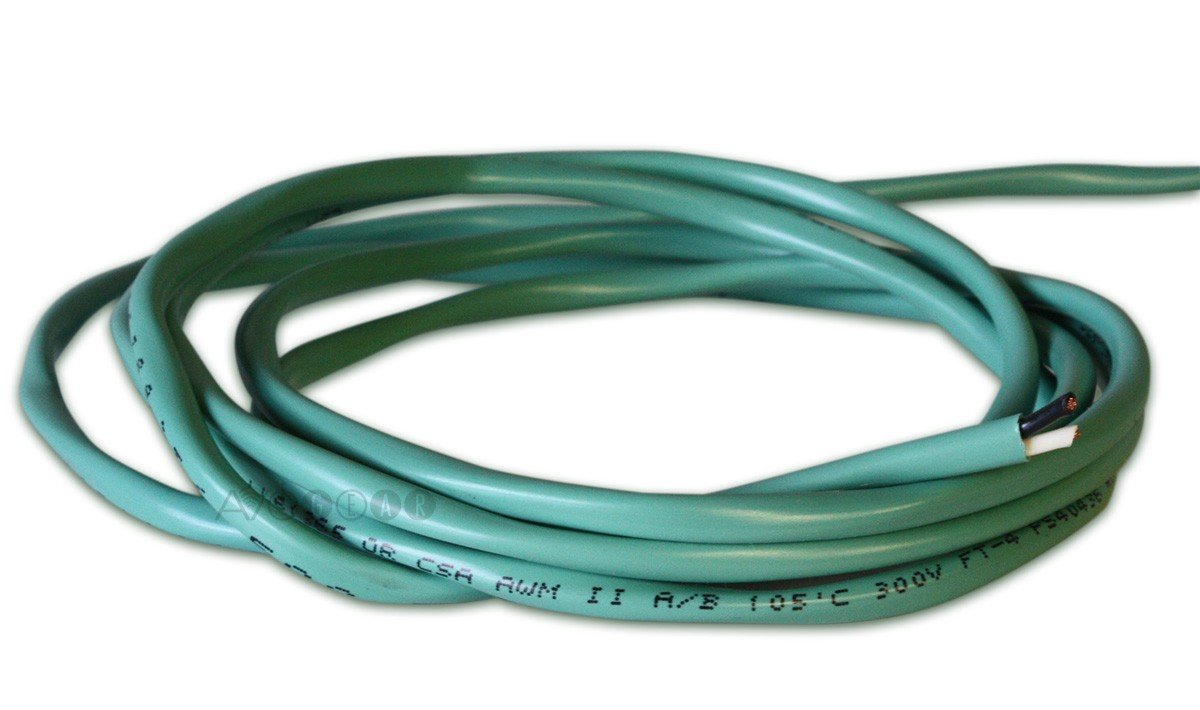 ThruSound Light Green 16AWG 2-Conductor FT4 In-Wall Speaker Wire ...