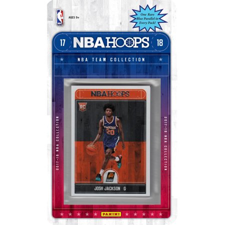Phoenix Suns Halloween 2017 (Phoenix Suns 2017 2018 Hoops Basketball Factory Sealed 10 Card Team Set with Devin Booker, Eric Bledsoe, Josh Jackson Rookie card)